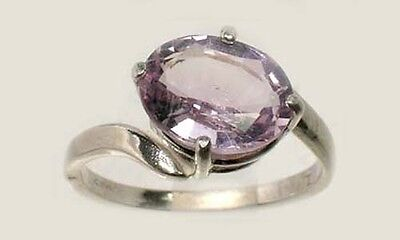 19thC Antique 2ct Scotland Amethyst Ancient Greece Hoplite Spartan Dionysus Ring