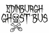 PR Staff wanted to promote brand new Edinburgh Ghost Bus Tour