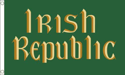 EASTER RISING IRISH REPUBLIC FLAG 5' x 3' Ireland Flags