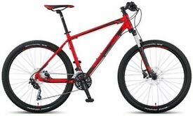 "Mountain Bikes, KTM Ultra Fire,17"" and 21""Frame,Red"