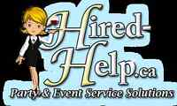 Need A Bartender or Server?