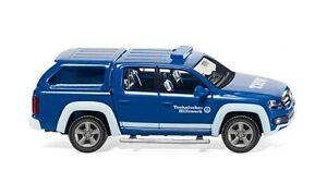 THW-VW-AMAROK-Wiking-031108-ESCALA-H0-1-87-Coche-a-Escala-Modelo-de-coche