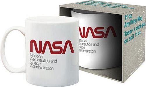 NASA - CLASSIC LOGO - COFFEE MUG - BRAND NEW 11 OUNCES - 47125