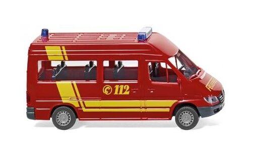 Feuerwehr - MB Sprinter Bus Wiking 060126 Spur H0 1:87 Modellauto Automodell