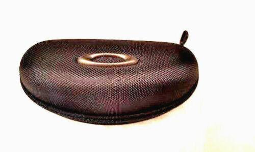 New Oakley Black Hard Zippered Vault Case for Crosslink Frames with Microbag