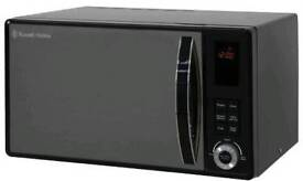 BRAND NEW RUSSELL HOBBS 23 LITRE BLACK DIGITAL MICROWAVE RHM2362B