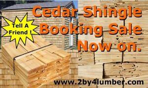 Cedar Shingle Sale m