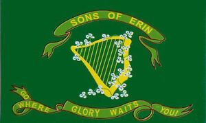 Ireland Sons of Erin Flag