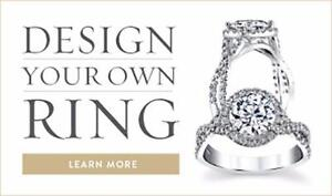 Moissanite - Harder than emerald, ruby, or sapphire and more brilliant than diamond! Get your dream ring!