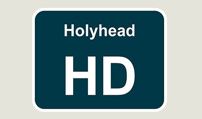 1x Holyhead Train Depot Sticker/Decal 100 x 77mm
