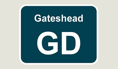 1x Gateshead Train Depot Sticker/Decal 100 x 77mm