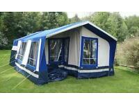 2008 sunncamp 400se trailer tent