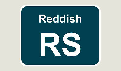 1x Reddish Train Depot Sticker/Decal 100 x 77mm