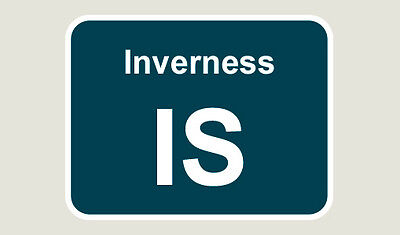 1x Inverness Train Depot Sticker/Decal 100 x 77mm