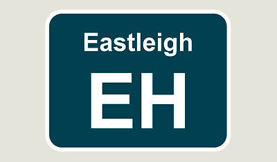 1x Eastleigh Train Depot Sticker/Decal 100 x 77mm