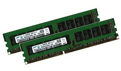 2x 8GB 16GB DDR3 1333 Mhz RAM Fujitsu Primergy TX100 TX120 S3...