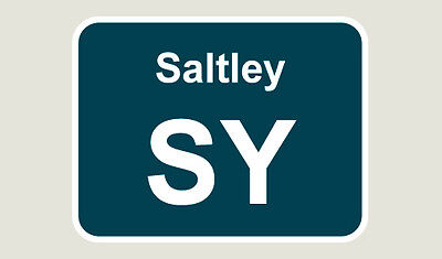 1x Saltley Train Depot Sticker/Decal 100 x 77mm