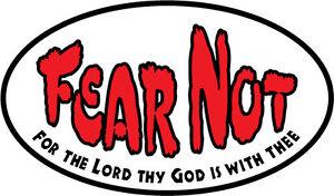 Christian-bumper-sticker-decal-Fear-Not-Jesus