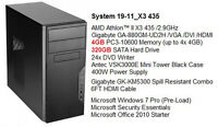 Almost Brand New AMD Athlon™ II Triple-Core /4G/320G Win 7 Tower