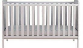 George home Rafferty cot bed-white