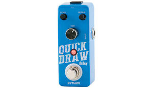 Outlaw Effects Quick Draw Delay Pedal *still in box*