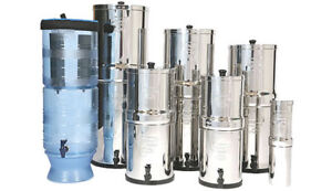 The Best Water Filter Systems: BERKEY WATER FILTRATION SYSTEMS