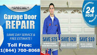 24/7 - CALL US AND SAVE GARAGE DOOR
