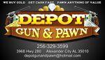 Depot Gun & Pawn - Highway 280 logo