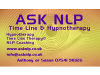 ASK NLP, Hypnotherapy, NLP andTime Line Therapy®