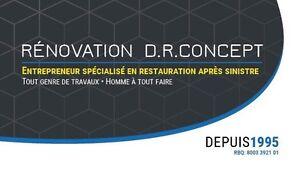 Solution réclamation dégât d'eau 514 777 3095 West Island Greater Montréal image 1
