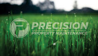 Precision Property Maintenance and landscaping licensed and ins