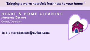 HEART & HOME CLEANING SERVICE London Ontario image 1