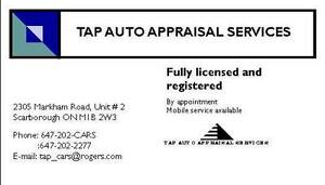▐► APPRAISALS for: saving tax, bankruptcy, cars over 20 yrs old,