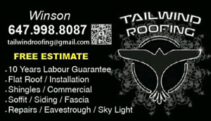 Tailwind Roofing ©