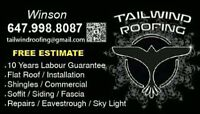 Need to replacement your roof?@Tailwind roofing