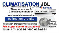 AIR CONDITIONER, WALL MOUNTED HEAT PUMP, UNBEATABLES PRICES