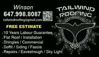 Tailwind Roofing @ high Quality