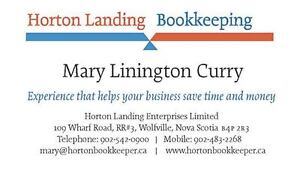 Bookkeeper in the Annapolis Valley