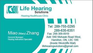 Hearing Aid---Starts from $295 after ADP on selected Model Cambridge Kitchener Area image 2