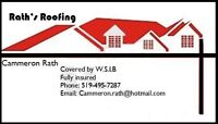 Its that time again.If you need a New Roof Call Raths Roofing