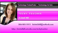Techy Teacher - technology tutoring OR technology work