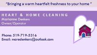 HEART & HOME CLEANING SERVICE