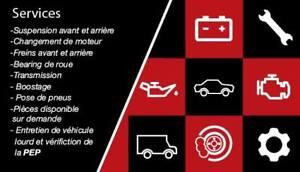 Mécanique - Mobile - Changement de pneus Mobile - Freins - start