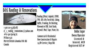 D&S Roofing & Renovations