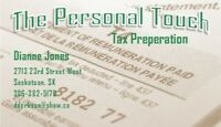 The Personal Touch, tax preperation