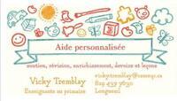 Aide personnalisée pour votre enfant (devoirs)