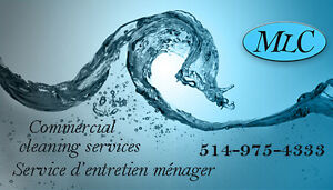 Commercial cleaning services Service d'entretien ménager commer West Island Greater Montréal image 1