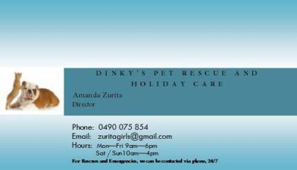 Dinky's Pet Rescue and Holiday Care Brisbane City Brisbane North West Preview