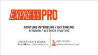 Peintre Professionnels  -Express Pro-  Professional Painters