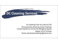 Cleaning services! Car, Patio/decking, gutters